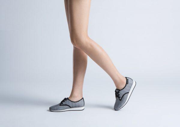 United Nude Runner Derby Sneakers on model
